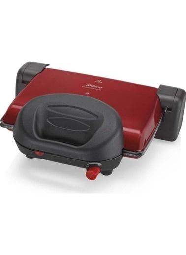 Arzum Prego Granite Izgara Ve Tost Makinesi Kırmızı